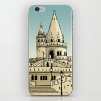 Fisherman's Bastion - Budapest - Hungary iPhone & iPod Skin