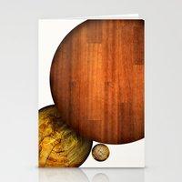 Franklin Square Balls Stationery Cards