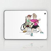 Strummin' Sisters Laptop & iPad Skin