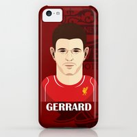 iPhone Cases featuring Gerrard Toon by Sport_Designs