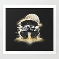 Spring of Life Art Print