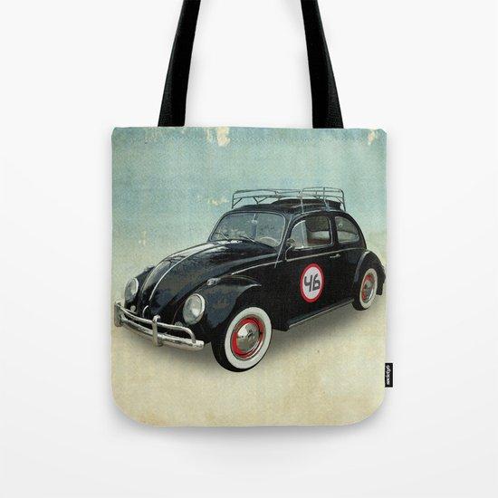 Number 46 -VW Beetle Tote Bag