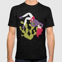 Cactus Mens Fitted Tee Tri-Black SMALL
