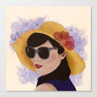 Verão Canvas Print