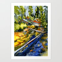 Gold Rush Art Print