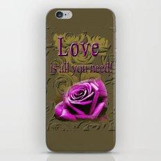 All you need ! iPhone & iPod Skin