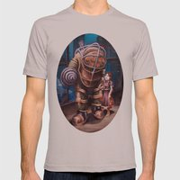 Bioshock Mens Fitted Tee Cinder SMALL