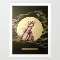 I've Had More Conversati… Art Print
