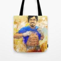 Manny Pacquiao - Pound 4… Tote Bag