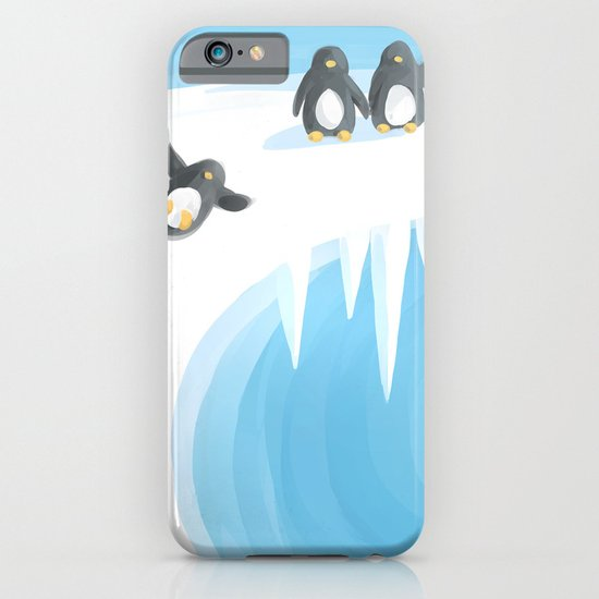 Penguin Playground iPhone & iPod Case