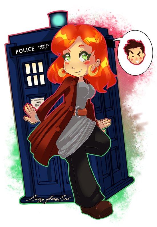 Doctor Donna  Art Print