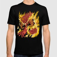 The Lord of Terror Mens Fitted Tee Black SMALL