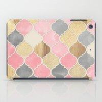 Silver Grey, Soft Pink, … iPad Case