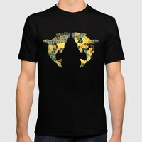 Little Sunshine Mens Fitted Tee Black SMALL