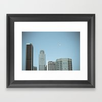 Los Angeles Balloon Framed Art Print