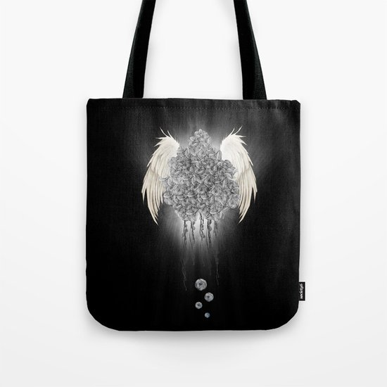 Angel of the chaos Tote Bag
