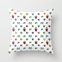 Commander Keen Throw Pillow