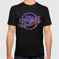 T-shirt featuring The Strokes Logo New Yor… by Fligo