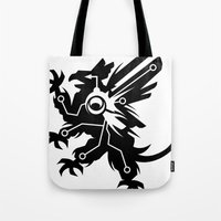 Tech Griffin Tote Bag