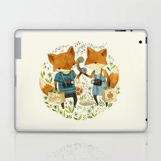 Fox Friends Laptop & iPad Skin