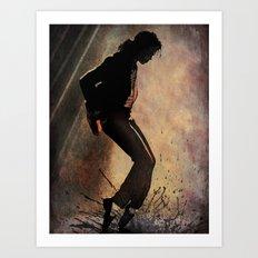 MJ Art Print