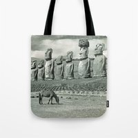 EASTER ISLAND VISTA Tote Bag