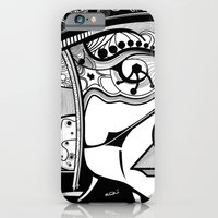 Tribal Design Face - 1 iPhone 6 Slim Case