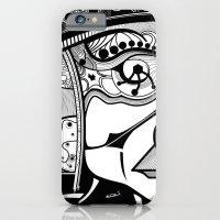 Tribal Design Face - 1 iPhone 6 Slim Case