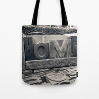 Letters Home Tote Bag