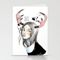 Buck Stationery Cards