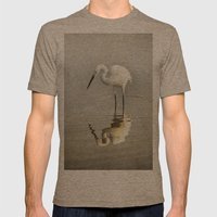 Narcissist Mens Fitted Tee Tri-Coffee SMALL