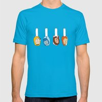 Some Girls Living In A Nailpolish Mens Fitted Tee Teal SMALL