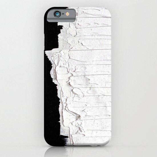 Black, White & White iPhone & iPod Case