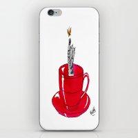 Kitten Cup iPhone & iPod Skin