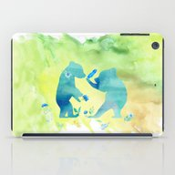 Playing Bear Kids I iPad Case