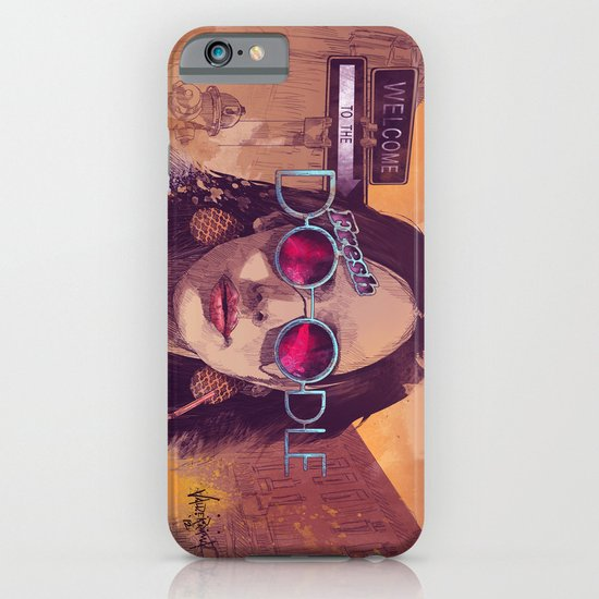 Welcome to the Fresh Doodle iPhone & iPod Case