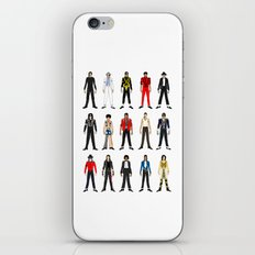 Outfits of King Jackson Pop Music Fashion iPhone & iPod Skin