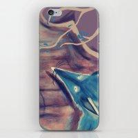 Autumn Fox iPhone & iPod Skin