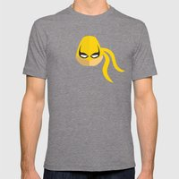 Iron Fist Mens Fitted Tee Tri-Grey SMALL