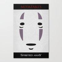 Spirited - Minimal Poster Canvas Print
