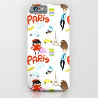 iPhone & iPod Case featuring Paris Paris by LadyCarrotte