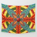 Thistle Pattern Wall Tapestry