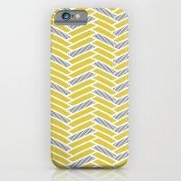 inspired herringbone iPhone 6 Slim Case