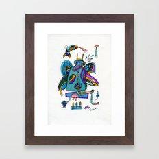 Tilto Framed Art Print