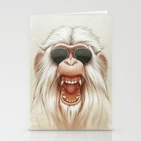 The Great White Angry Mo… Stationery Cards