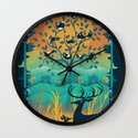 Natural Wonders Wall Clock