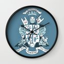 Bunnies are Evil Wall Clock