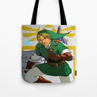 The Legend Of Zelda: Lin… Tote Bag