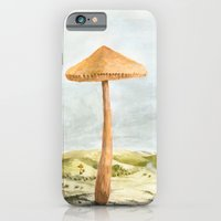 iPhone & iPod Case featuring Mushland - Watercolors by Speakerine / Florent Bodart