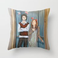 Unrequited Love In An El… Throw Pillow